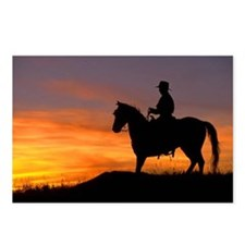 Postcards (Package of 8)-Sunset Rider