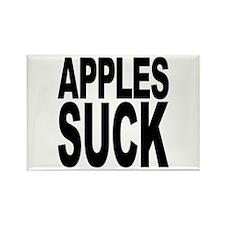 Apples Suck Rectangle Magnet