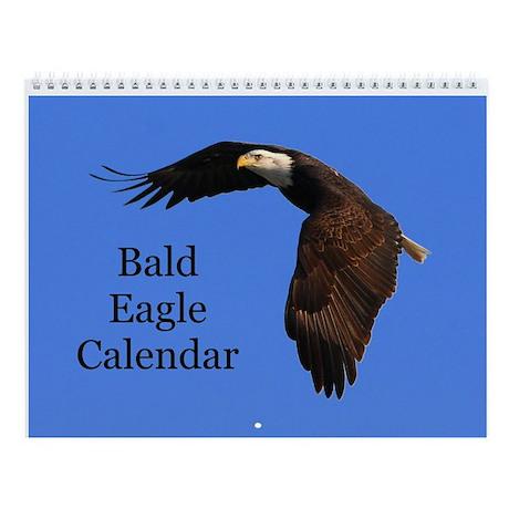 Bald Eagle Photo Wall Calendar
