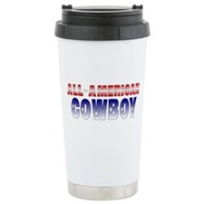 Travel Mug-All-American Cowboy