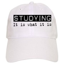Studying Is Baseball Cap