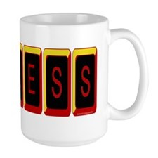 Useless Red & Black Mug