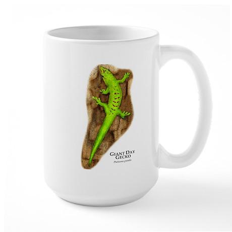 Giant Day Gecko Large Mug
