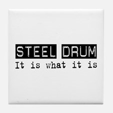 Steel Drum Is Tile Coaster