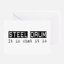 Steel Drum Is Greeting Card