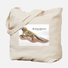 Bearded Dragon Tote Bag