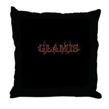 Glamis Imperial Sand Dunes Throw Pillow