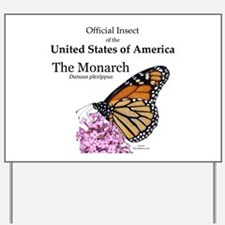 Monarch Butterfly Yard Sign