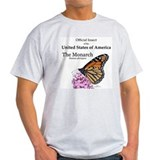 Monarch butterfly Mens Light T-shirts