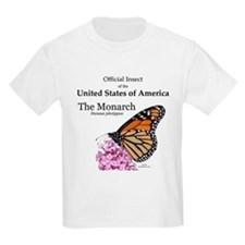 American Monarch Kids T-Shirt