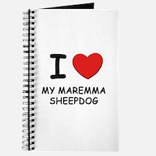 I love MY MAREMMA SHEEPDOG Journal