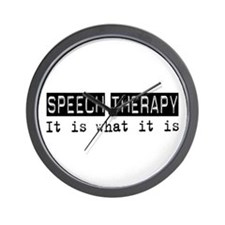 Speech Therapy Is Wall Clock
