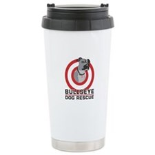 BullsEye Ceramic Travel Mug