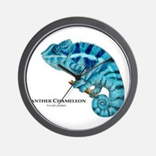 Panther Chameleon Wall Clock