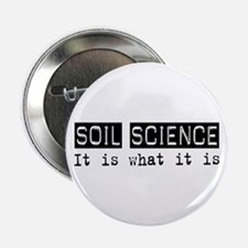 "Soil Science Is 2.25"" Button (10 pack)"