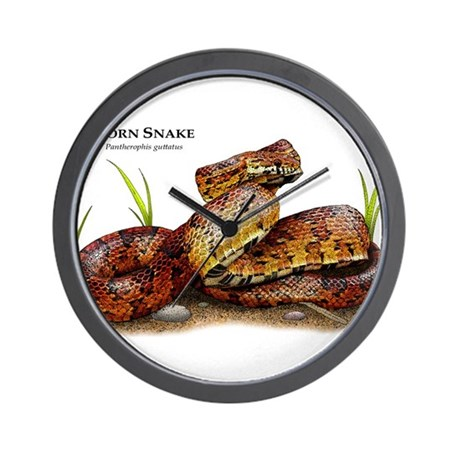 Corn Snake Wall Clock
