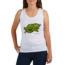 Emerald or Green Tree Boa Women's Tank Top