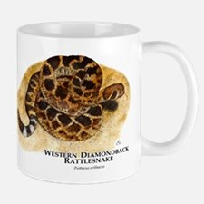 Western Diamondback Rattlesna Mug