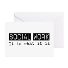 Social Work Is Greeting Card