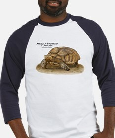 African Spurred Tortoise Baseball Jersey