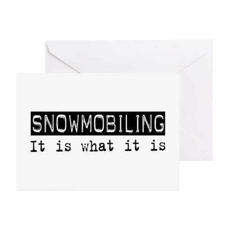 Snowmobiling Is Greeting Cards (Pk of 20)