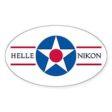 Hellenikon Air Base Oval Decal
