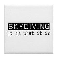 Skydiving Is Tile Coaster