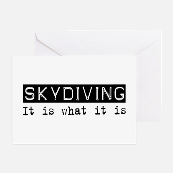 Skydiving Is Greeting Card