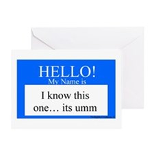 I Know This One... Greeting Card