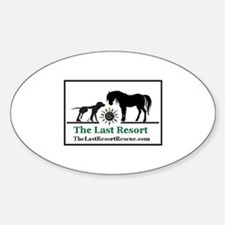 The Last Resort Oval Decal