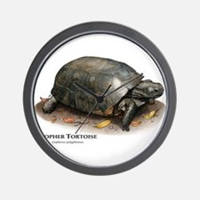 Gopher Tortoise Wall Clock