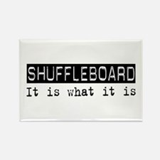 Shuffleboard Is Rectangle Magnet
