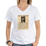 Emmett Dalton Women's V-Neck T-Shirt
