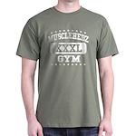 MUSCLEHEDZ XXXL GYM - Army Green T-Shirt