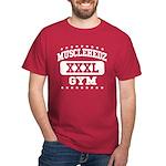 MUSCLEHEDZ XXXL GYM - Cardinal T-Shirt