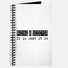 Riding a Scooter Is Journal