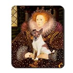 Queen/Fox Terrier (#S4) Mousepad