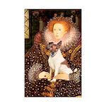Queen/Fox Terrier (#S4) Mini Poster Print