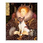Queen/Fox Terrier (#S4) Small Poster