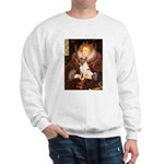 Queen/Fox Terrier (#S4) Sweatshirt