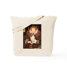 Queen/Fox Terrier (#S4) Tote Bag