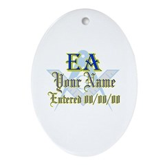 Masonic CUSTOM EA Keepsake (Oval)