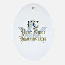 Masonic CUSTOM FC Keepsake (Oval)