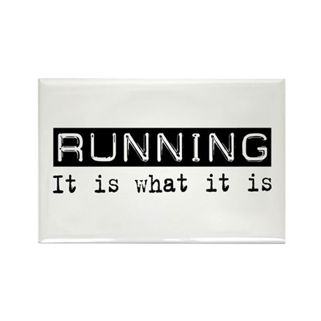 Running Is Rectangle Magnet (10 pack)