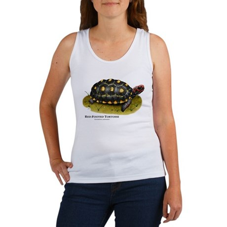 Red-Footed Tortoise Women's Tank Top