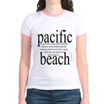 367. pacific beach Jr. Ringer T-Shirt