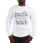367. pacific beach Long Sleeve T-Shirt
