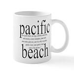 367. pacific beach Mug