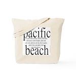 367. pacific beach Tote Bag