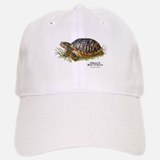 Ornate Box Turtle Baseball Baseball Cap